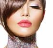 Hairstyle. Beauty Model Girl