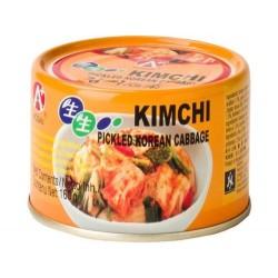 original Kimchi aus Süskorea eingelegtes fermentiertes Gemüse Pak Choi kim chi