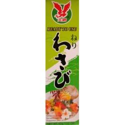 Wasabi Paste sehr scharf Tube 43g Sushi grüner Japan Meerrettich Wasabipaste