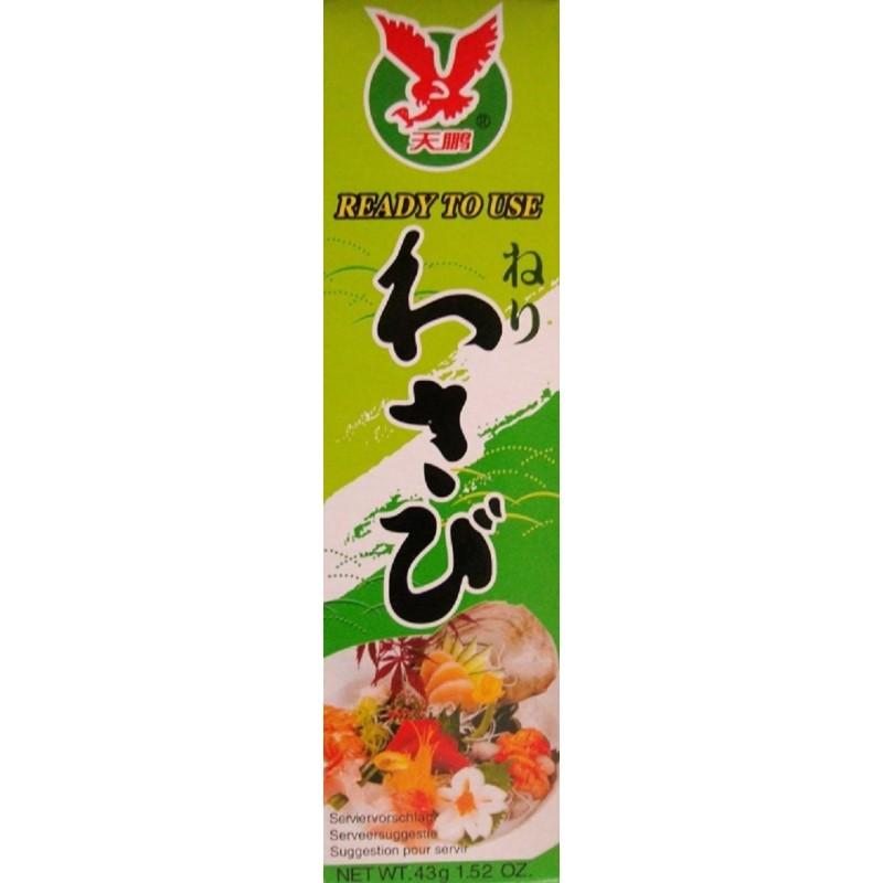 wasabi paste sehr scharf tube 43g sushi gr ner japan meerrettich wasabipaste. Black Bedroom Furniture Sets. Home Design Ideas