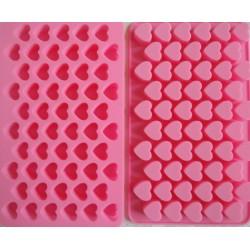 Herz Pralinenform Backform Eiswürfelform 100% Silikon Schokoladenform Seifenform
