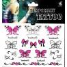 Schmetterling und SchleifenTattoos 1 Bogen Fake Tattoo (15,5cm x 10,5cm ) - einmal tatoos temporary