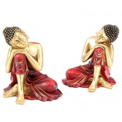 Thai Buddha Figur buddhismus budda rechts / links thaibuddha thaibudda feng shui