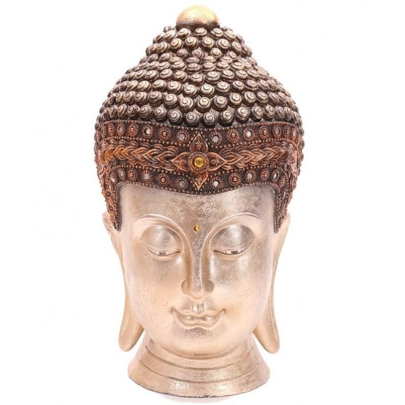 Gro er thai buddha kopf figur thaibuddha buddafigur feng Buddha kopf deko
