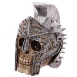 Totenkopf Gladiatorhelm (18x12x17) aus Resin - Skull Totenschädel Coole Deko gothic schädel