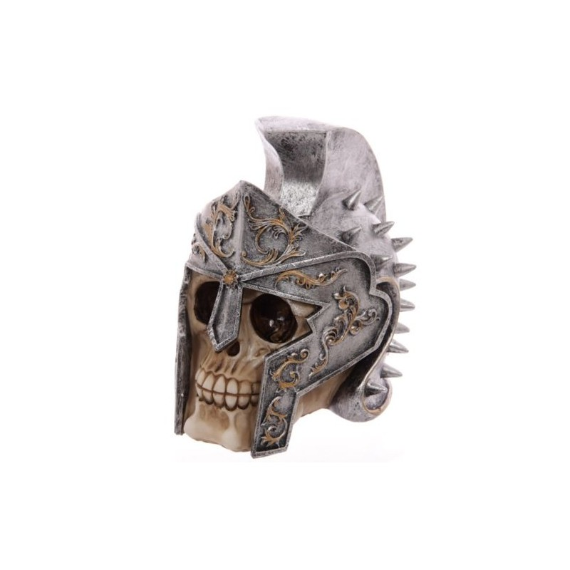 totenkopf gladiatorhelm skull totensch del coole deko gothic sch del gladiator. Black Bedroom Furniture Sets. Home Design Ideas