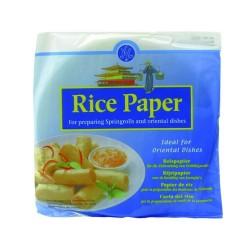 Reispapier für Frühlingsrollen 500 g und orientalische Speisen rund Ø 22cm