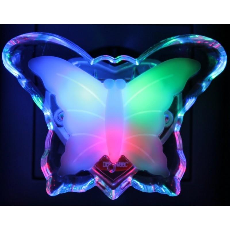 Nachtlicht Schmetterling Notlicht Nachtlampe Steckdosenlicht ...
