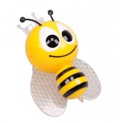 LED Nachtlicht Biene Schlummerlicht wechselt saft Farben Steckdosenlicht 220V/1 Watt Notlicht nachtlampe