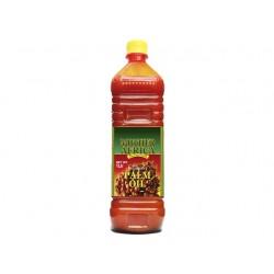 100% Palmöl 1Liter Qualitätsöl  Palmfett unraffiniert Palmoel Mother Africa woköl Ghana