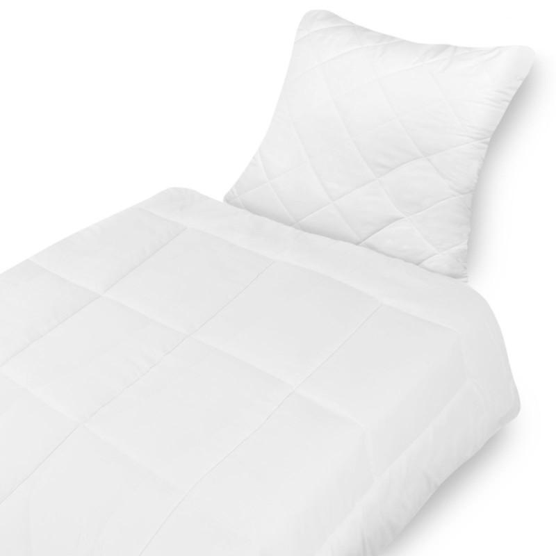 qualit ts microfaser bettenset kopfkissen 80x80 cm bettdecke 135x200cm wohlf hlset waschbar. Black Bedroom Furniture Sets. Home Design Ideas