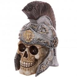 Totenkopf Centurion (21x12x18) aus Resin - Skull Totenschädel Coole Deko gothic zenturion schädel