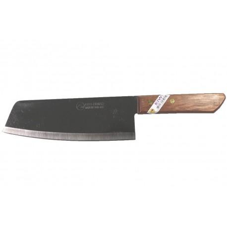 Nakiri Küchenmesser Mit Holzgriff Und Edelstahlklinge Asiatisches  Kochmesser Klinge 18,5cm