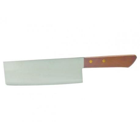 Nakiri Küchenmesser Mit Holzgriff Und Edelstahlklinge Asiatisches  Kochmesser Klinge 19cm
