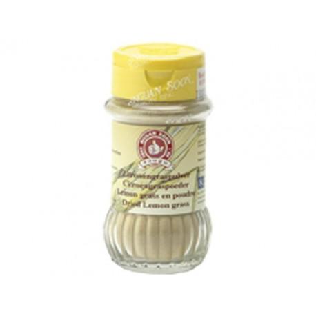 Zitronengras Pulver 40g im Streuer Lemongras gemahlen Asia Gewürz Thai-küche
