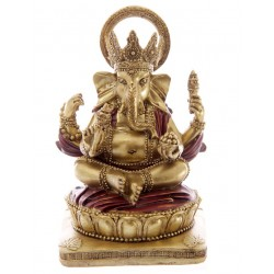 Ganesha Figur 14cm - Hinduismus buddhismus ganescha statue Elefantengott