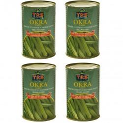 Okraschoten 400g in SalzWasser indische Zucchini OKRA Schoten Wok Gemüse