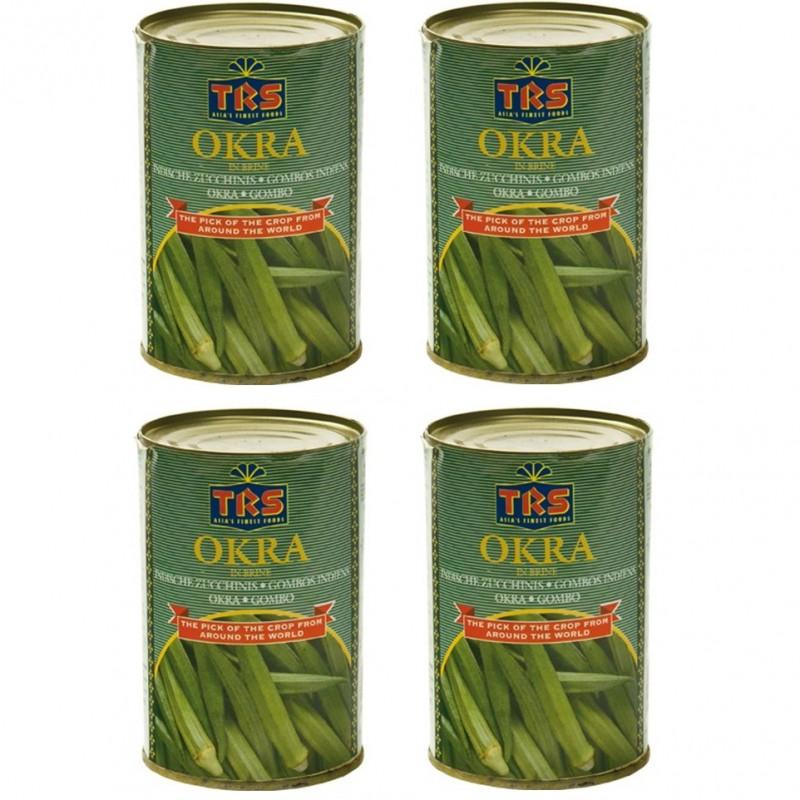 4x okraschoten a 400g in salzwasser indische zucchini okra for Indische dekoartikel