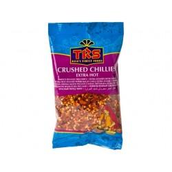 Chili Flocken EXTRA SCHARF chillischrot geschrotet crushed chili 100g Topgewürze