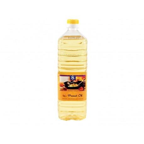 100% Erdnussöl 1 Liter Qualitätsöl, Erdnußöl Erdnussoel Woköl  DauerTiefpreis