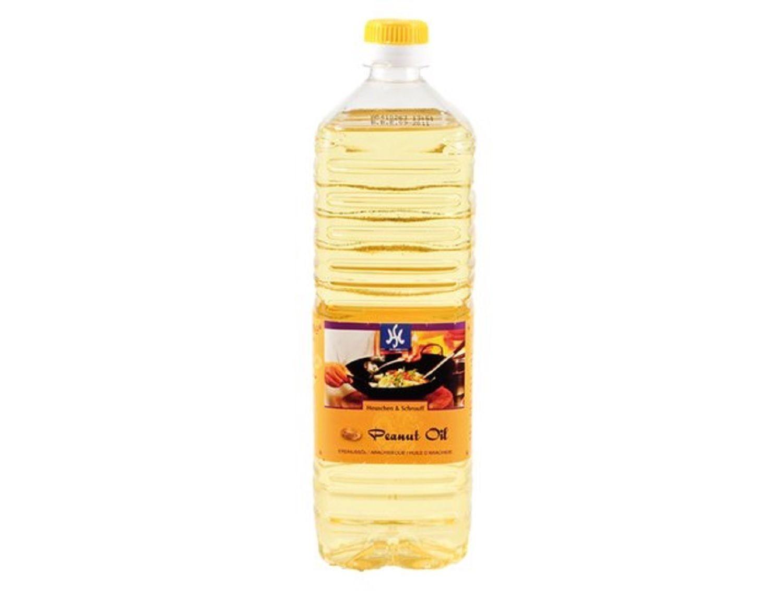 100% Erdnussöl 1 Liter Qualitätsöl, Erdnußöl Erdnussoel Woköl