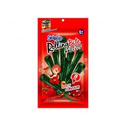 Chili Algensnack süß/scharf 28g knuspriger Seetang Meeresalge algenblätter nori rolls