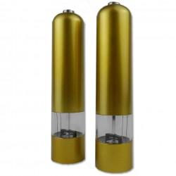 2er Set Design Salzmühle und Pfeffermühle - Coloredition aus Kunsstoff  - (H: 22,5 cm, Ø 5,1 cm)