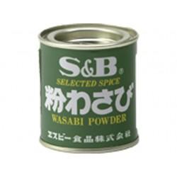 Wasabipulver 30g Dose aus Japan Meerrettichpulver Kren S&B Wasabi Pulver