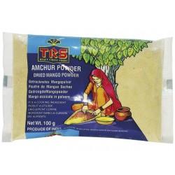 Mangopulver 100g Amchur Powder getrocknete Mango gemahlen 100% Mango indien