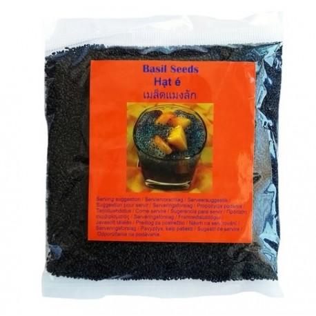 Basilikumsamen 100g Basilikum Samen Superfood Basil Seeds Sabja Seeds