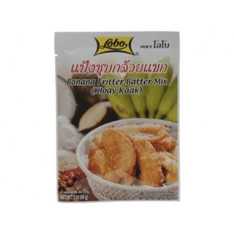 Teigmischung für Frittierte Bananen Gebackene Bananen im Teigmantel asia Dessert
