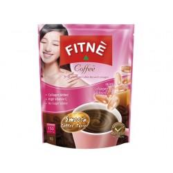 Kaffee von FITNE mit Kollagen + Vitamin C für schöne Haut / Hautaufbau Instant Coffee 150g (10x15g)