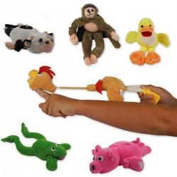 Sling Animals - Katapult-Stofftiere mit Soundeffekt
