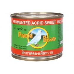 Senfkohl eingelegt süß / scharf 140g fermentiert eingelegt Pak Choi KimChi sushi