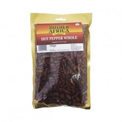 ChiliPfeffer 100g Hot Pepper GANZ - sehr SCHARF - Chili-Pfeffer Chilli Pfeffer ganze ChiliSchoten