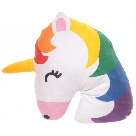 Kuschelige Einhorn Kissen Regenbogen Unicorn Kopfkissen Dekokissen kuschelkissen