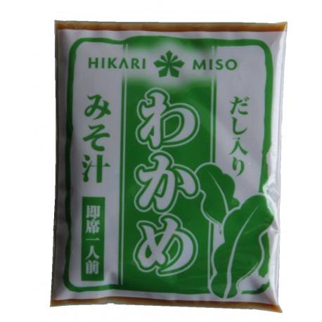 Miso Suppe original aus Japan mit Wakamealgen Instant Miso Shiro Wakame Supp