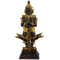 Bronze Cayenne Tempelwächter handgefertigt Buddha TUK Yaksha - limited Edition