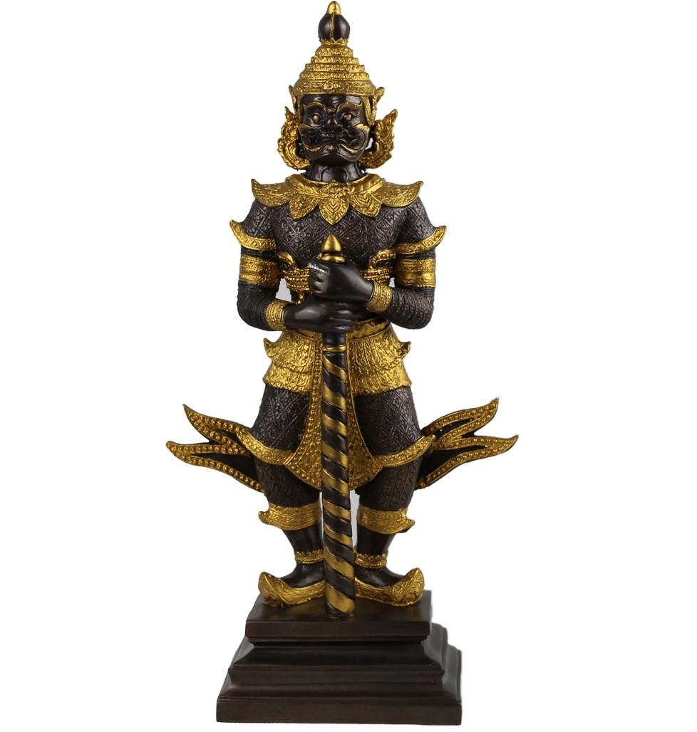 Bronze Cayenne Tempelwächter handgefertigt Buddha TUK Yaksha Sonderanfertigung