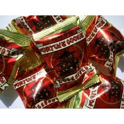 40 Glückskekse einzeln in Folie -fortune cookie- Weissagungen im Weizenkeks