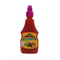 Spicy Mango Tamarinden Sauce 300ml süßlich scharf würzige mangosauce + Tamarindensauce