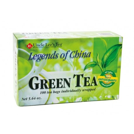 Grün Tee 100 Teebeutel Green Tea grüner Tee 160g asiatischer Tee grüntee