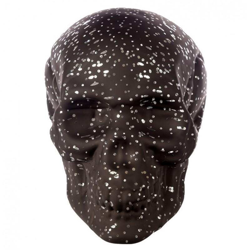 1edf662bc6a959 LED Totenkopf Sternenlicht Skull Totenschädel inkl. 4 Batterien gothic  schädel (15x12x19)