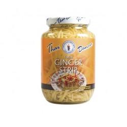 Ingwer Streifen 454g/200g Glas weißer Ingwerstreifen Thailand ginger für Sushi Salat Wok