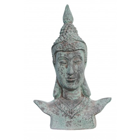 Buddha Büste XL Statue thaibuddha buddafigur feng shui budda 65cm buddha Figur