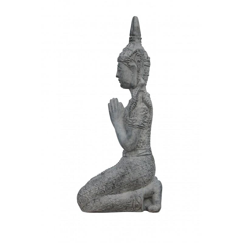 Thai Buddha Statue Kniend 69cm Budda Figur Thaibuddha Buddafigur Feng Shui