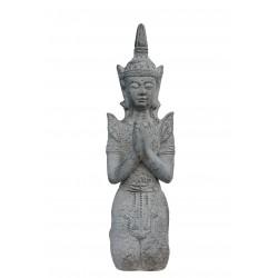 Thai Buddha Statue kniend 69cm budda Figur thaibuddha buddafigur feng shui budda