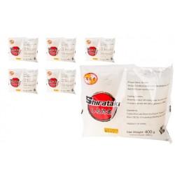 6x Konjak Shirataki Noodles breite Bandnudeln a 400g/200g kalorinarme Nudeln Low Carb