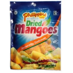 getrocknete Mango in Scheiben 100g sonnengereifte Trockenfüchte Dried Mangoes