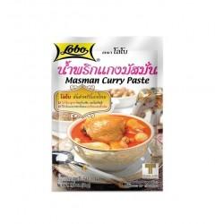 Masman Curry Paste Authentische Gewürzpaste aus Thailand 50g Currypaste original